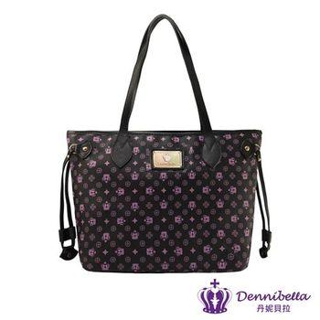 Dennibella 丹妮貝拉 - 紫色皇冠時尚大方包