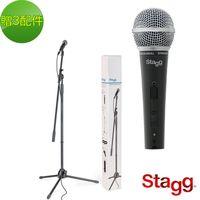 【Stagg 比利時品牌】動圈式麥克風 套裝組(SDM50 SET)