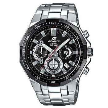 【CASIO】EDIFICE 多角切割簡約科技感指針腕錶 EFR-554D-1A