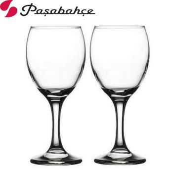 土耳其Pasabahce高腳紅酒杯250cc-二入組