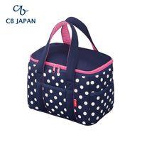 CB Japan 水玉點點系列可洗可拆保冷手提箱10L