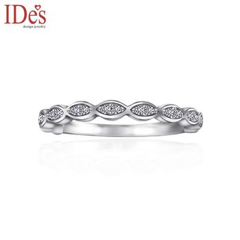 IDes design 品牌設計款鑽石戒指/線戒