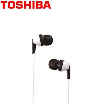 TOSHIBA東芝 高音質耳塞式耳機 RZE-D40W 白色