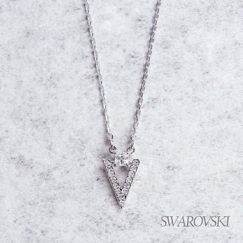 VIP回饋 -【SWAROVSKI】施華洛世奇 Funk 項鏈-小 (白金色)