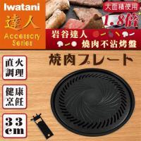 日本Iwatani岩谷達人燒肉不沾烤肉盤33cm