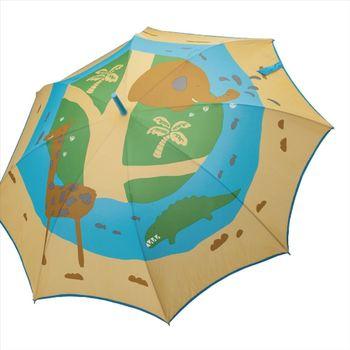 促銷↘價【Weather Me】無接縫一片自動傘-馬達加斯加