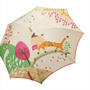 【Weather Me】無接縫一片自動傘-老鼠見貓