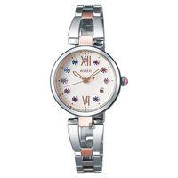 WIRED f 東京聖誕限定晶鑽女錶-米色x雙色版/26mm VJ22-KZ50KS(AY8015X)