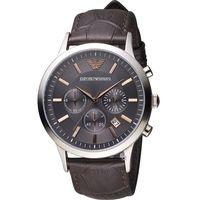 EMPORIO ARMANI 紳士品味時尚腕錶 AR2513