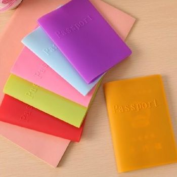 【RAIN DEER】糖果色矽膠護照夾輕旅行系列(隨機出貨)