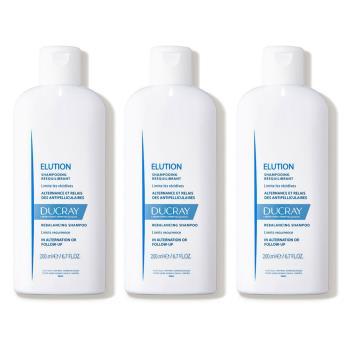 DUCRAY護蕾 控油舒敏洗髮精-基礎型 200ml 3入組