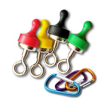 露營界的超強幫手~強力磁鐵掛勾+贈D型扣