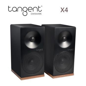 丹麥 Tangent X4 書架型喇叭 黑/白二色 時尚美型 被動式音箱 揚聲器
