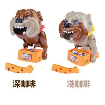 【17mall】家有惡犬夾骨頭偷骨頭桌遊遊戲機(小心惡犬)顏色隨機