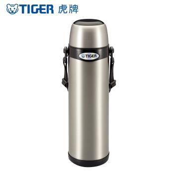 【TIGER 虎牌】1.0L不鏽鋼 經典背帶系列保溫保冷瓶(MBI-A100-XD)