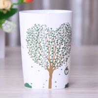 [協貿國際]     陶瓷杯帶蓋咖啡馬克杯  愛心樹