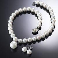 頂級3A南洋深海貝珍珠套組 小樂珠寶