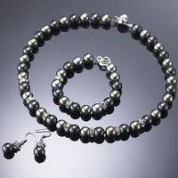 (小樂珠寶) 珍珠有獨特的魅力,無論出門逛街或社交場合是基本必備的,全美正圓3A南洋深海貝珍珠套組,多件超划算