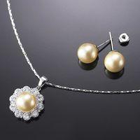 (小樂珠寶) 好禮免費送珍珠訂單大爆滿囉,連續珍珠銷售冠軍名店--全美正圓3A南洋深海貝珍珠項鍊耳環套組多件