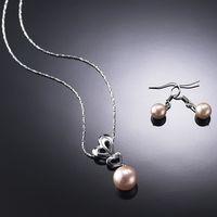 (小樂珠寶) 母親節珍珠訂單目前爆滿囉,請買家提早訂購唷---全美正圓3A南洋深海貝珍珠項鍊耳環套組多件