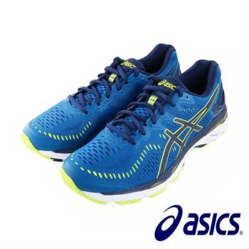 【Asics】亞瑟士 GEL-KAYANO 23 2E寬楦男慢跑鞋 運動鞋(T647N-4907)