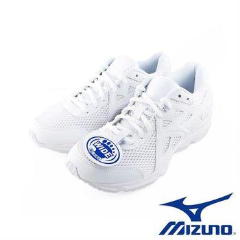 【Mizuno】Mizuno 女慢跑鞋 運動鞋 學生鞋 寬楦(K1GA170201)