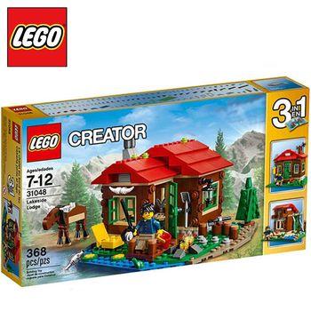 樂高【LEGO】L31048 湖畔小屋