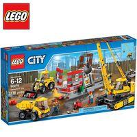 樂高【LEGO】City系列 L60076 爆破現場