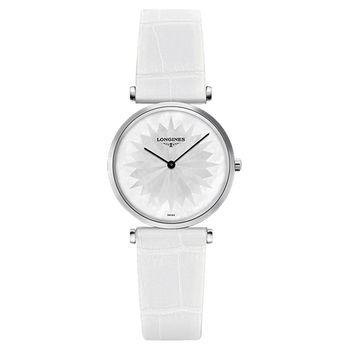 LONGINES 浪琴 La Grande 嘉嵐系列石英女錶-珍珠貝x白/29mm L45124052