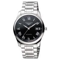 LONGINES Master 巨擘系列羅馬機械腕錶-黑/40mm L27934516