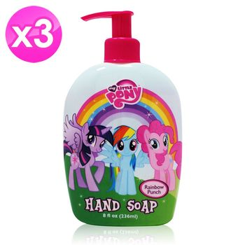 【My Little Pony】保濕洗手乳(8oz/236ml) 3入組