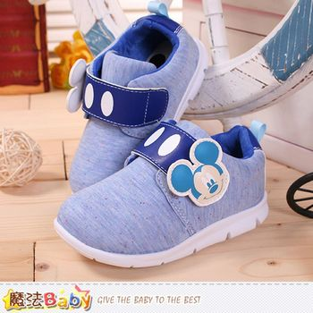 魔法Baby 專櫃童鞋 迪士尼米奇正版輕量休閒鞋~sh0010