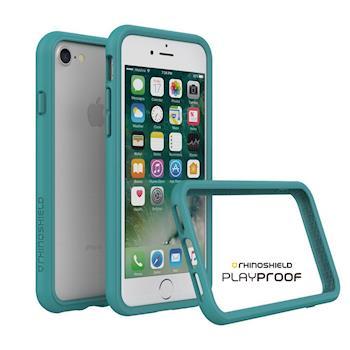 犀牛盾 Apple iPhone 7 CrashGuard 2.0 防摔邊框-孔雀綠