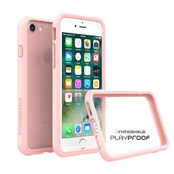 犀牛盾 Apple iPhone 7/8 (通用) CrashGuard 2.0 防摔邊框-裸粉
