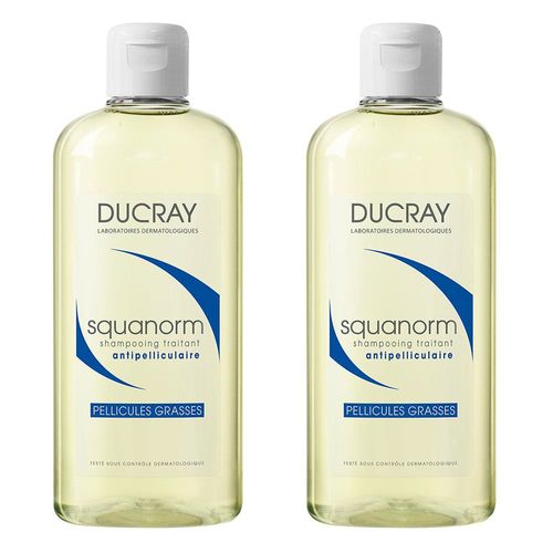 DUCRAY護蕾 K油清屑洗髮精 200ml 2入組