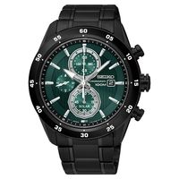 SEIKO 精工 Criteria 零極限三眼計時腕錶-綠x黑/44mm V176-0AR0G(SSC547P1)