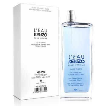 Kenzo 風之戀男性淡香水-Tester(100ml)-送針管隨機款