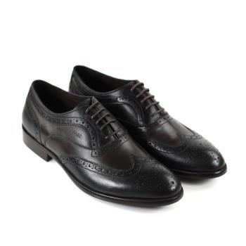 【GREEN PHOENIX】真皮紳士魅力經典牛津雕花皮鞋(男鞋)-咖啡色
