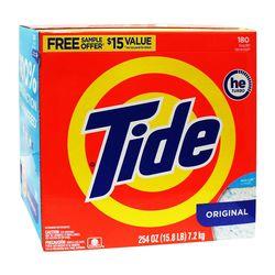 【美國進口 Tide】洗衣粉7.2kg/254oz (滾筒洗衣機適用)