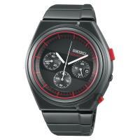 SEIKO精工 GIUGIARO DESIGN 聯名設計限量計時腕錶 7T12-0CD0R(SCED055J)