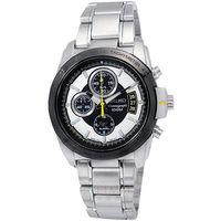 SEIKO 精工 / 7T62-0HB0S / 極致美感精緻三眼計時手錶 銀色 38mm