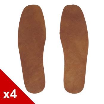 ○糊塗鞋匠○ 優質鞋材 C29 豚皮板鞋墊 (4雙/組)