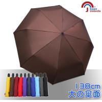 Kasan 新大無敵自動開收雨傘(咖啡)