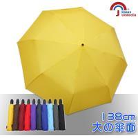【Kasan】新大無敵自動開收雨傘 (亮黃)