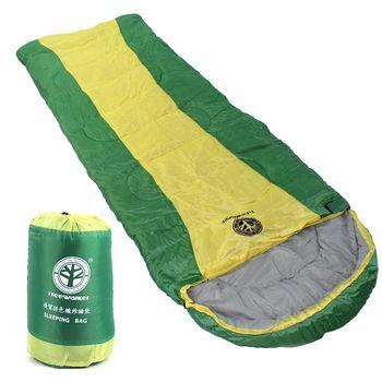 TreeWalker 優質併色纖維睡袋