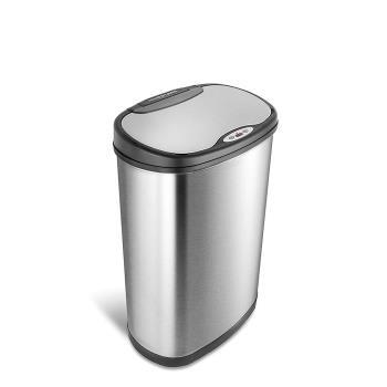 美國NINESTARS時尚不銹鋼感應垃圾桶50L(廚衛系列)