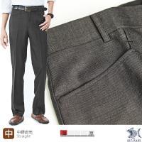 【NST Jeans】時尚優雅黑 斜口袋 男 羊毛無打摺西裝褲 (中腰) 391(6929)