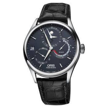 Oris Artelier Calibre 112 十日動力儲存手動上鏈機械腕錶-42mm 0111277264055-set