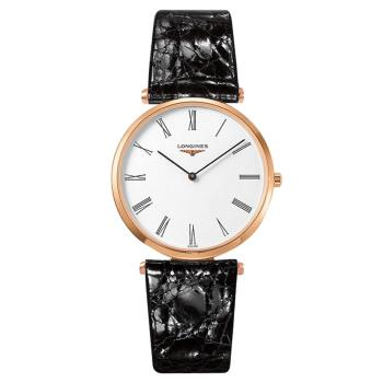 LONGINES 浪琴 La Grande 嘉嵐系列石英錶-玫塊金框/36mm L47551912
