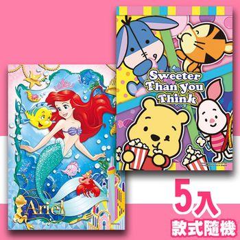 【P2 拼圖】Disney迪士尼系列108片拼圖5入組(款式隨機)
